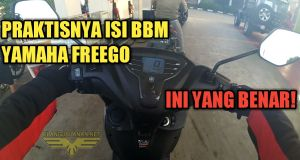 Isi BBM Yamaha FreeGo
