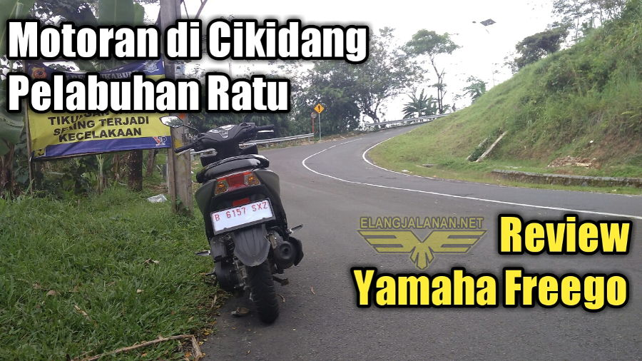 VLOG: Motoran di Cikidang Bareng Yamaha Freego