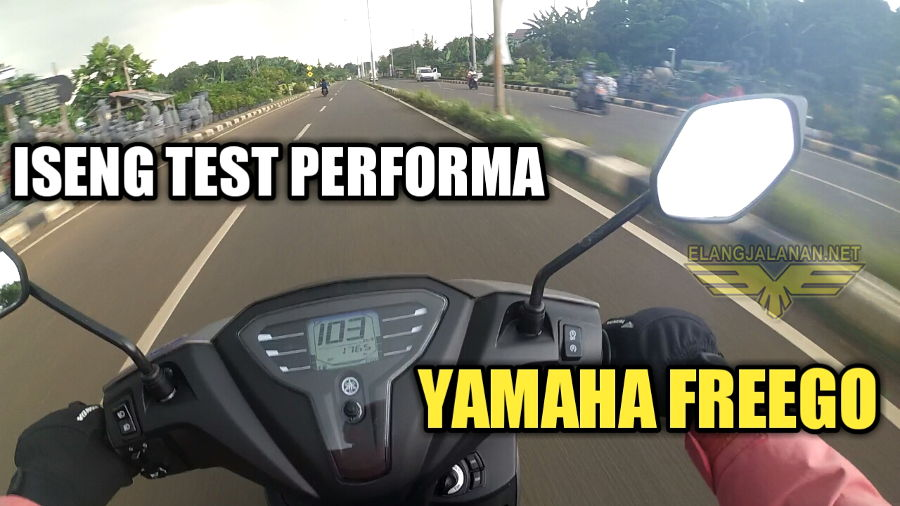 VLOG: Iseng Test Performa Yamaha Freego