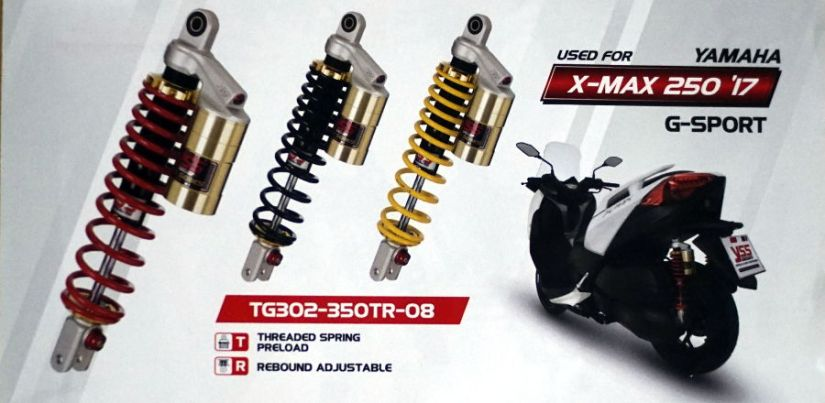 G Series untuk Maxi Skutik