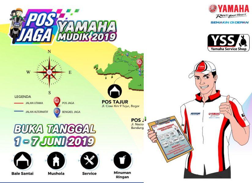 Yamaha Sediakan 4 Pos Jaga