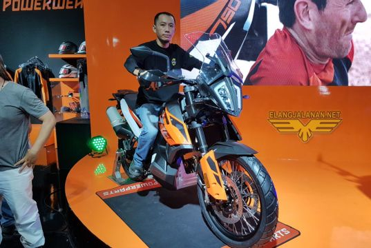 KTM 790 Adventure Indonesia