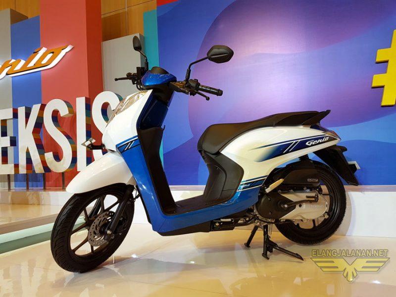 Fitur Dan Spesifikasi Honda Genio, Bukan Skutik Retro