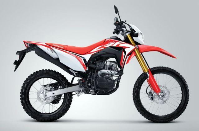 Ekspor Honda CRF150L