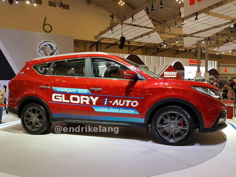 SUV Pintar DFSK Glory i-Auto, dilengkapi Asisten Virtual dengan Perintah Suara