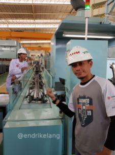 Blogger Visit Plant Produksi Rangka ESAF