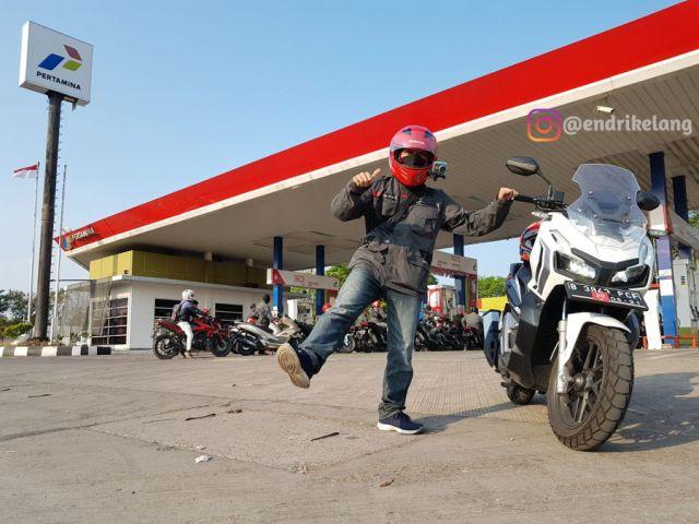 Touring Jarak Jauh Honda ADV 150