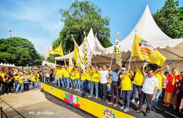 Pembukaan Karnaval Budaya FLP Jakarta