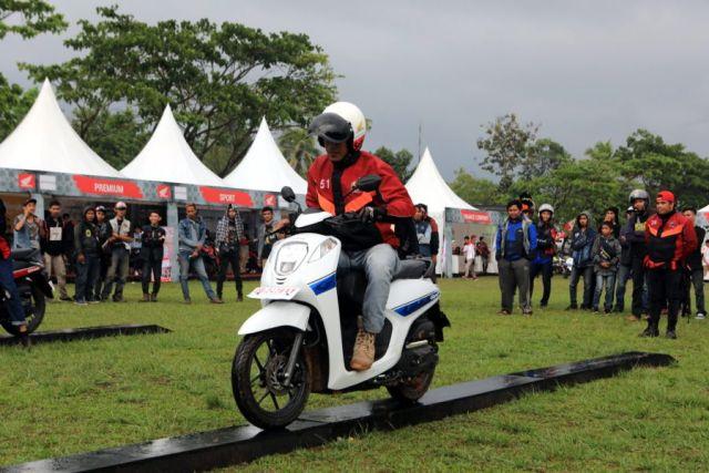 Kampanye #Cari_Aman Honda Bikers Day