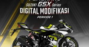 Pemenang Suzuki GSX Series Digital Modifikasi