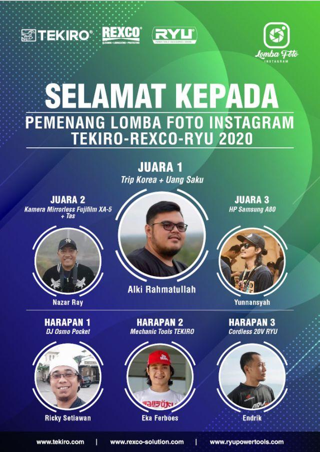 Lomba Foto Instagram Tekiro 2020