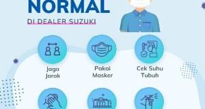 Suzuki Terapkan Protokol Kesehatan