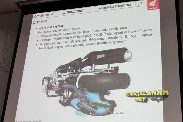 Keunggulan Mesin PCX 160 eSP+