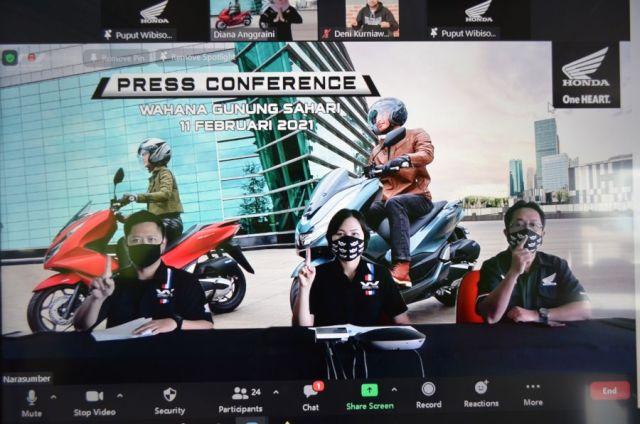 Wahana Gelar Virtual Launching PCX 160
