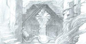 Nuevo boceto de Dol Guldur