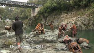 Rodaje en el río Pelorus