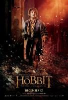 Poster de Bilbo en la guarida de Smaug