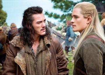 Bardo el Arquero y Legolas Hojaverde