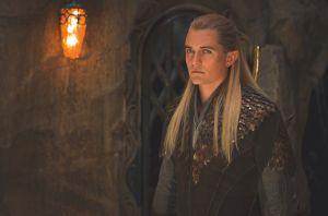 Legolas en el palacio de Thranduil