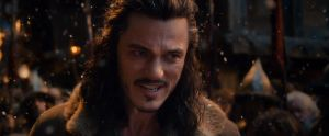 Bardo advierte del peligro a Thorin
