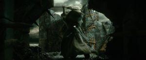 Gandalf solo en Dol Guldur