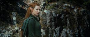 Tauriel habla con Legolas