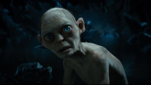 Gollum, expectante