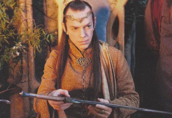 Elrond con Orcrist