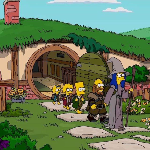 Y Me Refiero Ahi Abajo Simpsons