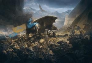 La Batalla de los Cinco Ejércitos, según Justin Gerard