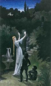 Mary Fairburn - Galadriel, Frodo y Sam