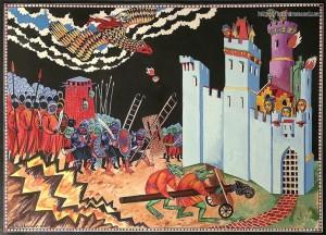 Sergei Iukhimov - Asedio a Minas Tirith