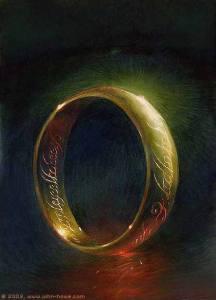 El Anillo Único, según John Howe