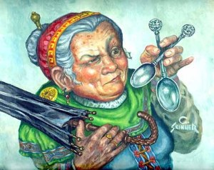 Lobelia Sacovilla-Bolsón, según Cortney Skinner