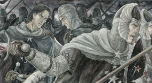 Isildur y Elendur, según Anke Katrin Eißmann