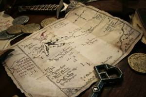 Réplica en español del Mapa de Thrór