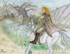 Glorfindel se encuentra a los Nazgûl en el Puente de Mitheithel, según Phebe Alexander