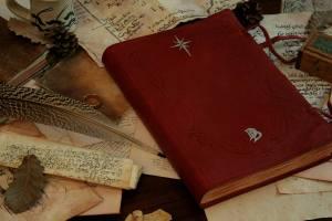 Réplica en español del Libro Rojo de la Frontera del Oeste