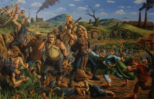 Batalla de Delagua, según Jeff Porter