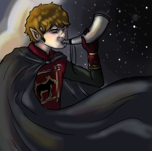 Merry hace sonar el cuerno de Rohan en Delagua, según Michaela Finn