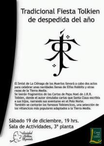 Fiesta Tolkiendil en Madrid organizada por el Smial Ciénaga de los Muertos
