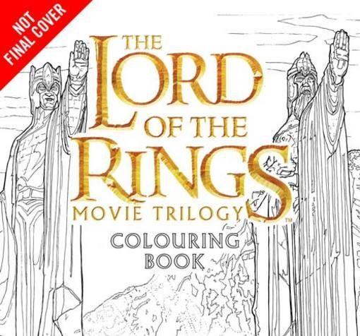 Libro para colorear de la trilogía de El Señor de los Anillos | El ...