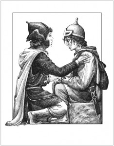 Pippin y Merry, según Ekaterina Shemyak