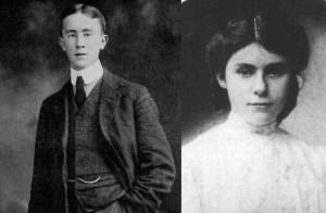 J.R.R. Tolkien y Edith Mary Bratt