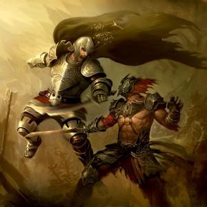 Soldado de Gondor, según Lius Lasahido