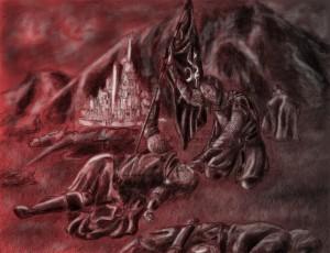 La muerte de Halbarad, según MirachRavaia