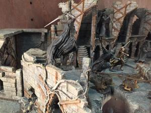 Diorama de Dol Guldur de Weta Workshop
