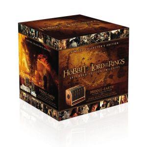 Pack en Blu-ray Edición de Coleccionista Limitada de la Tierra Media