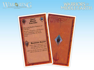 Warriors of Middle-Earth - Cartas de eventos (Sombra)