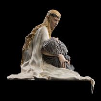 Figura de Galadriel y Gandalf del diorama de Dol Guldur de Weta Workshop